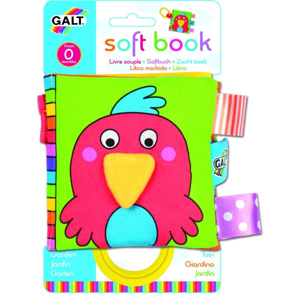 Soft Book: Carticică moale Garden 0