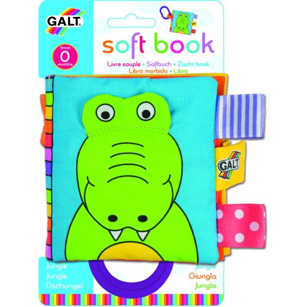 Soft Book: Cărticică moale Jungle 0