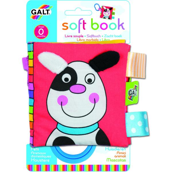 Soft Book: Cărticică moale Pets 0