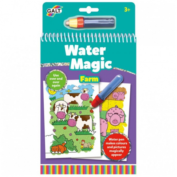 Water Magic: Carte de colorat La fermă, de la Galt 0