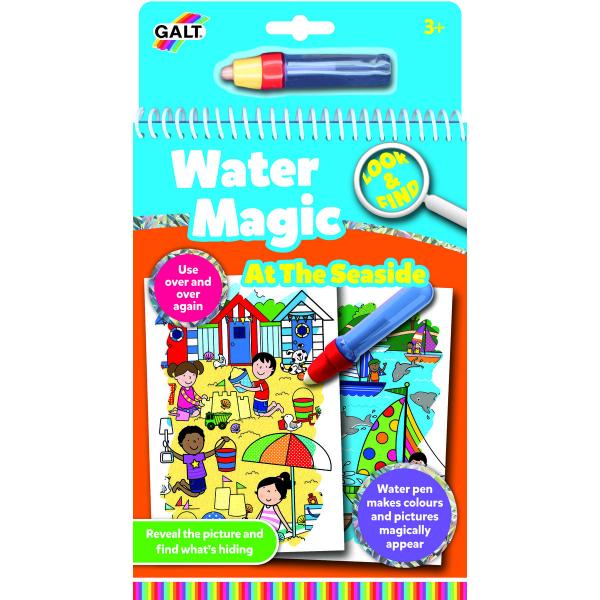 Water Magic:Carte de colorat La mare 0