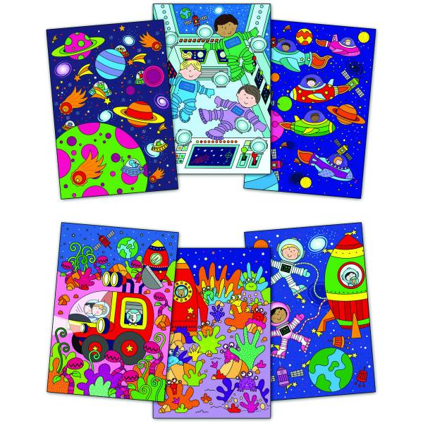 Water magic: Carte de colorat Spațiu 1