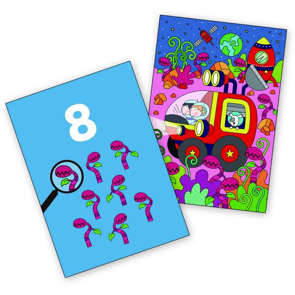 Water magic: Carte de colorat Spațiu 2