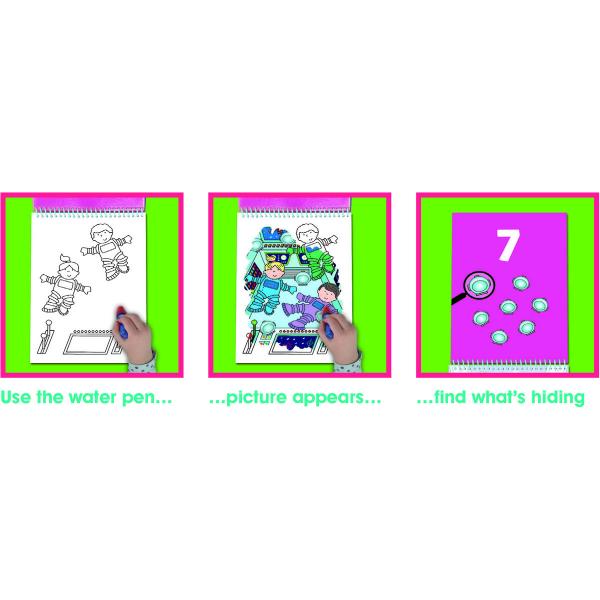 Water magic: Carte de colorat Spațiu 3