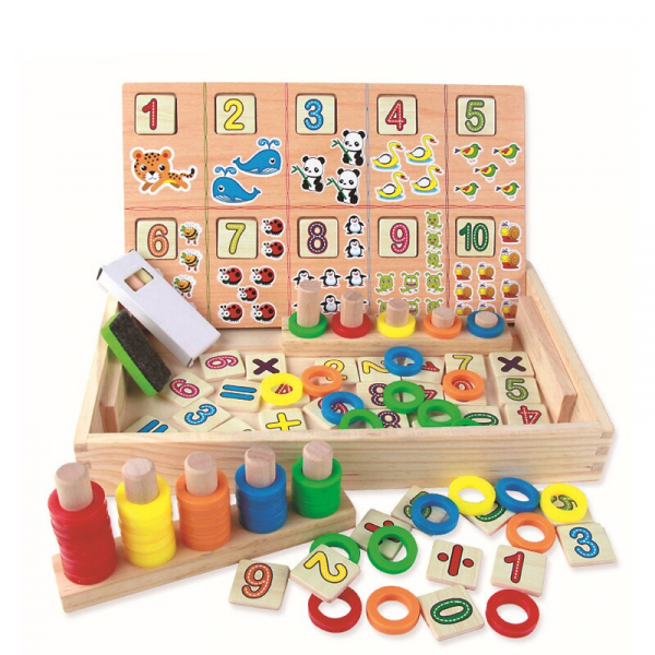 Tabla educativa Montessori Matematica Donuts Number 0