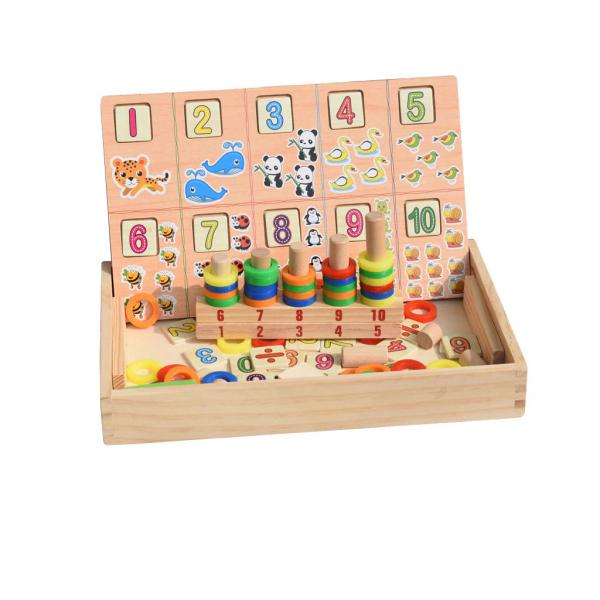 Tabla educativa Montessori Matematica Donuts Number 1