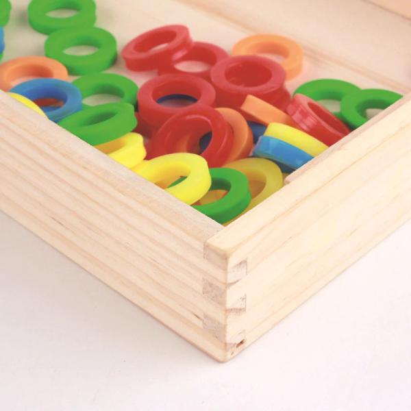 Tabla educativa Montessori Matematica Donuts Number 3