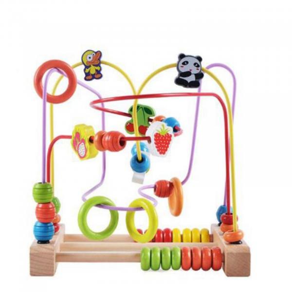 Jucărie motrică - Labirint cu Bile și Numărătoare [1]