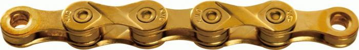 Lant KMC X9 Gold Ti-N 9 Viteze 114 zale [0]