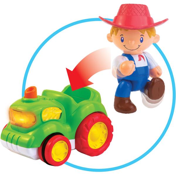 Jucărie muzicală - Tractorul de la fermă [3]