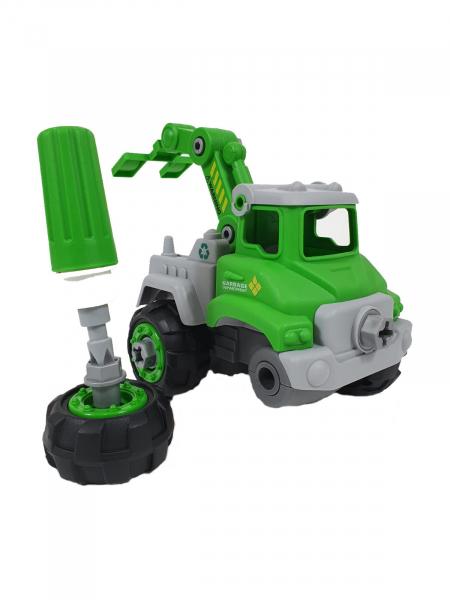 Mașină de gunoi, de construit DIY 0