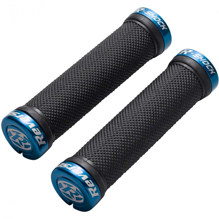 Mansoane Reverse R-Shock soft compound 29/130mm negru/albastru [0]