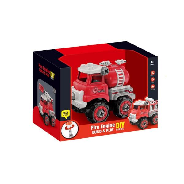 Jucarie creativa - Masina de pompieri de construit [2]