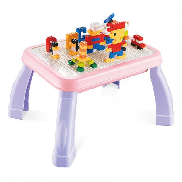 Masuta lego cu set cuburi incluse 2 in 1 Study Desk 1