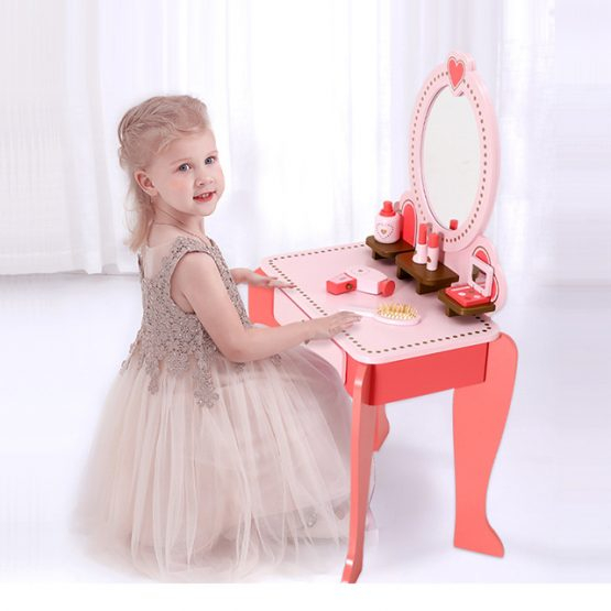 Masuta infrumusetare copii cu Oglinda si accesorii 3