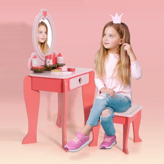 Masuta infrumusetare copii cu Oglinda si accesorii 2