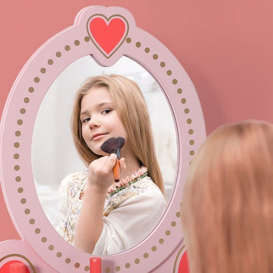 Masuta infrumusetare copii cu Oglinda si accesorii 7