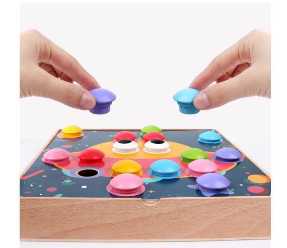 Joc mozaic creativ din lemn pentru copii 2