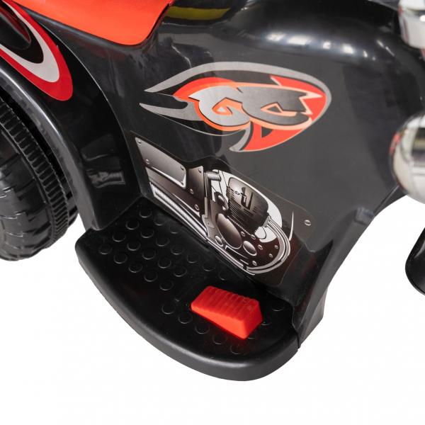 Motocicleta electrica copii cu acumulator, muzica si lumini, culoare alb [9]