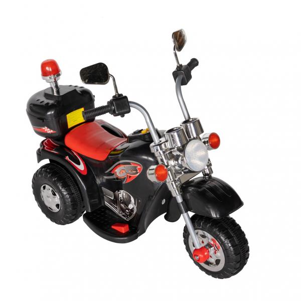 Motocicleta electrica copii cu acumulator, muzica si lumini, culoare alb [1]