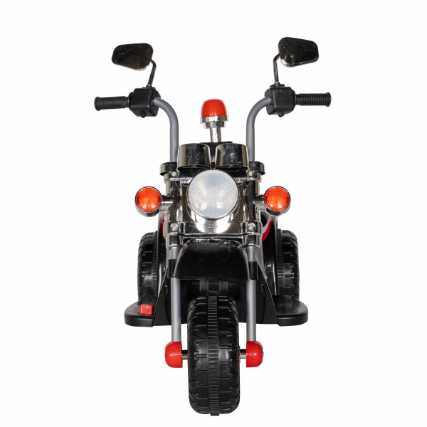 Motocicleta electrica copii cu acumulator, muzica si lumini, culoare alb [2]