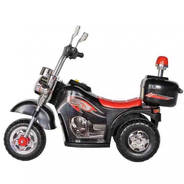 Motocicleta electrica copii cu acumulator, muzica si lumini, culoare alb [3]