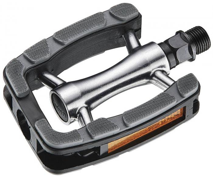 Pedale Union SP-823 Non-Slip Aluminiu negre AM [0]
