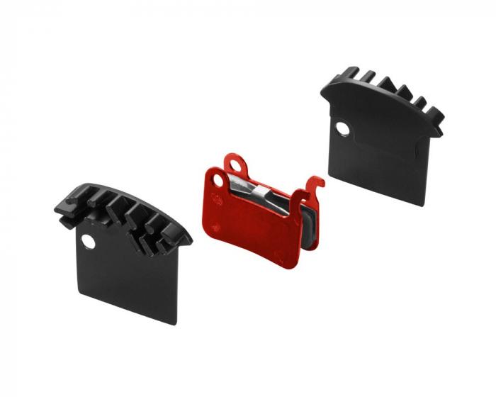 Placute de frana metalice cu radiator Union DBP-17SC set compatibil cu Shimano XTR [0]