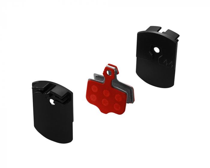 Placute de frana metalice cu radiator Union DBP-44SC set compatibil cu Avid Elixir [0]