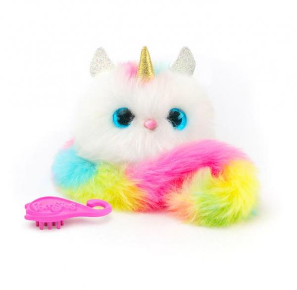 Jucărie de pluș interactivă, pisică multicoloră Pomsie [1]
