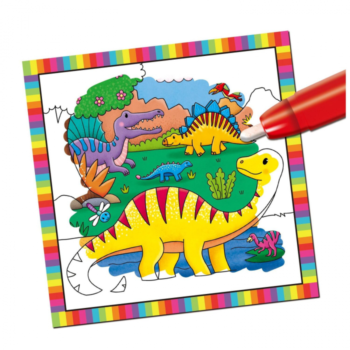 Prima mea carticica Water Magic - Micutii dinozauri [1]