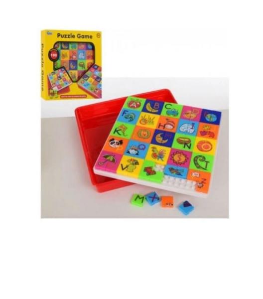 Joc educativ mozaic Puzzle Game, 100 piese, multicolor, 3 ani+ [1]
