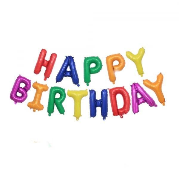 Set baloane folie Happy Birthday 0
