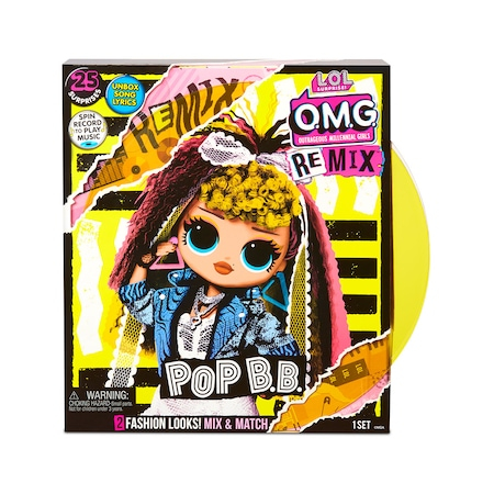 Papusa L.O.L. Surprise! OMG Remix Pop B.B. 25 surprize 0