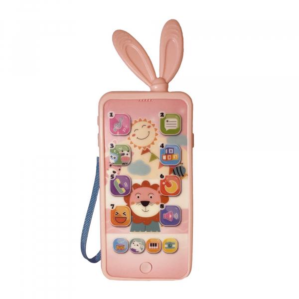 Jucarie interactiva telefon, Smart Phones Toys, + 3 luni, 2