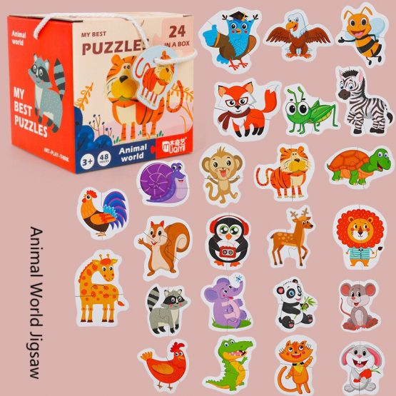 Set 24 puzzle My best puzzle - animale 1