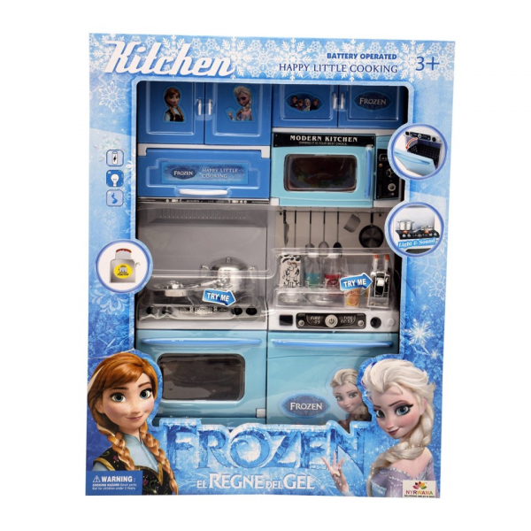 Set bucatarie pentru copii My Little Cooking Frozen, 3 ani+ [5]