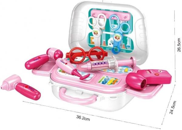 Set doctor pentru copii sub foma de rucsac, Happy 0