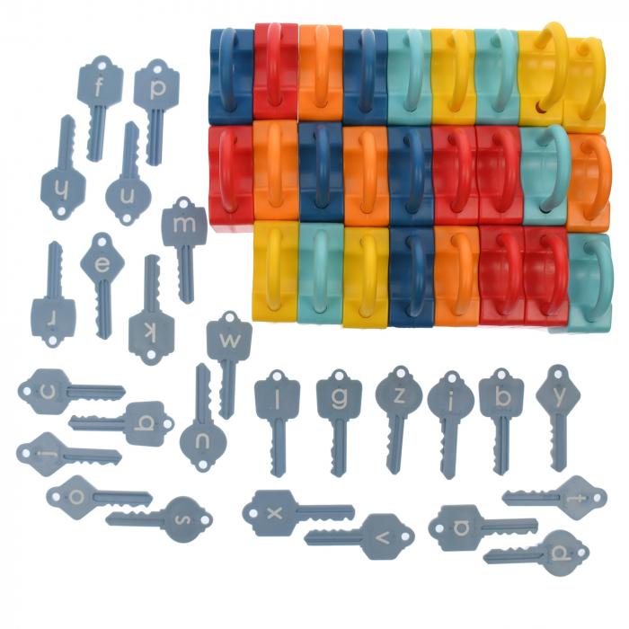Set lacate de jucarie pentru invatat alfabetul,  52 de accesorii [2]