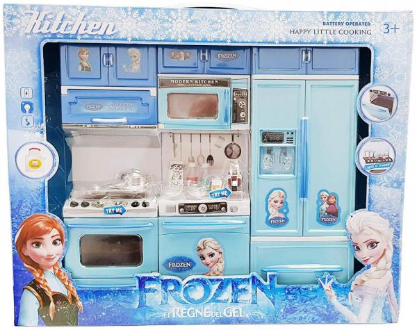 Set mare bucatarie pentru copii My Little Cooking Frozen 1