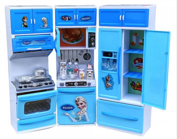 Set mare bucatarie pentru copii My Little Cooking Frozen 0