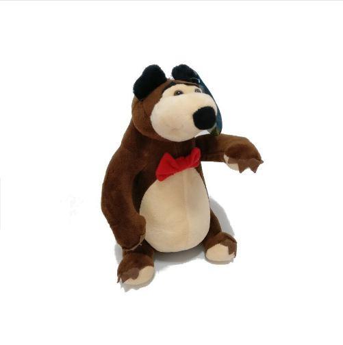 Set figurine plus Masha şi Ursul - muzicale (25 cm/30cm) [3]