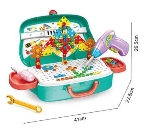 Set scule pentru copii cu bormasina electrica 1