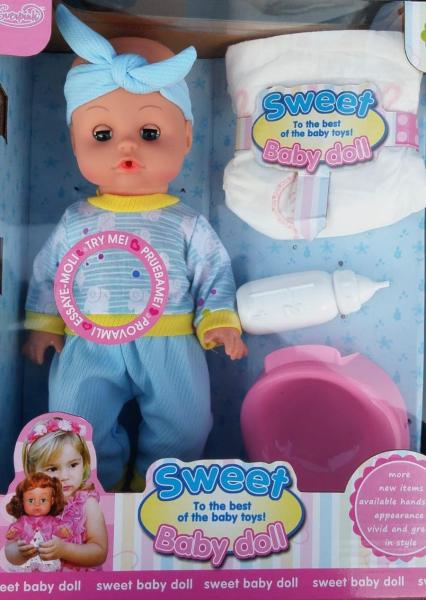Set Bebeluș interactiv Sweet Baby Doll [0]