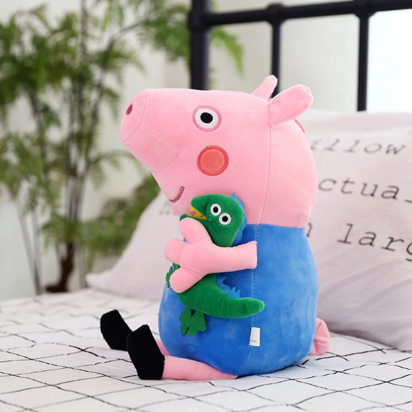 Set 6 jucarii de plus Peppa Pig, 20 cm [5]