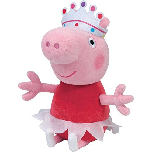 Set 6 jucarii de plus Peppa Pig, 20 cm [6]