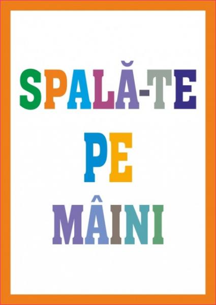 Set stickere decorative - SPALA-TE PE MAINI PENTRU COPII 5