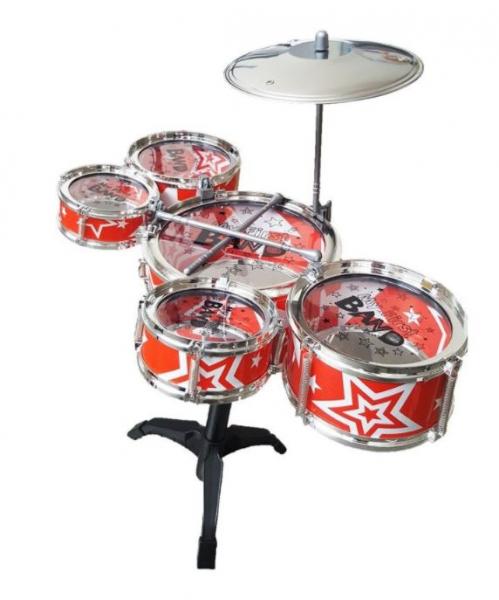 Set tobe pentru copii Jazz Drum, scaun inclus, 3 ani+ 1
