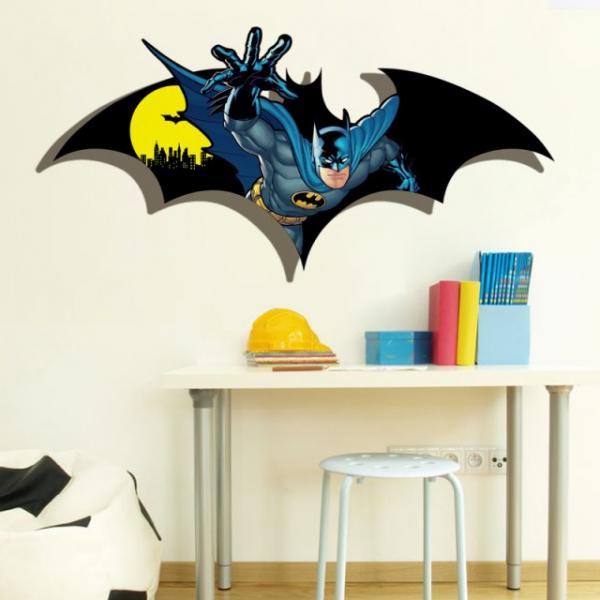Sticker decorativ - BATMAN DIN PERETE 0