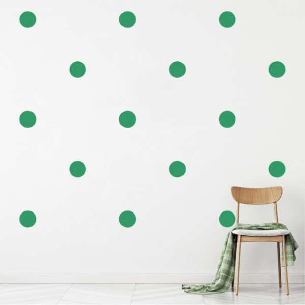 "Sticker decorativ - ""CERCURI BULINE FORMA GEOMETRICA"" - 64BUC 1"